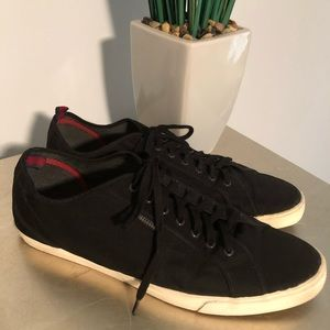 Ben Sherman Black Sneakers